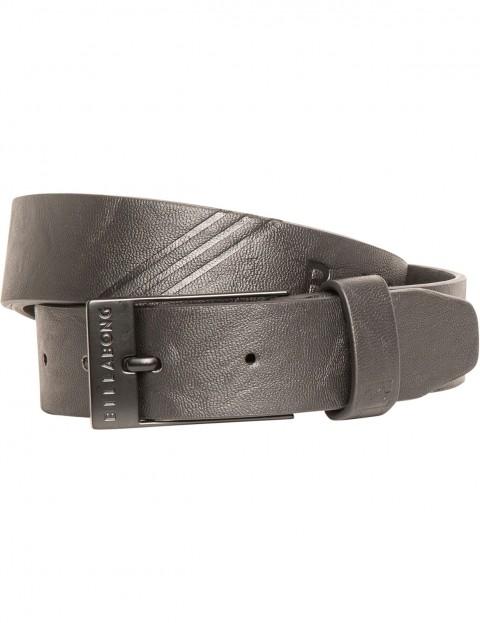 Billabong Junction Faux Leather Belt in Black