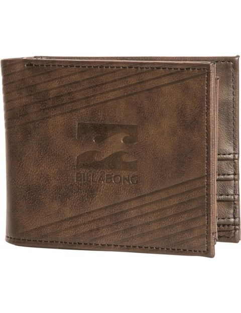 Billabong Junction Faux Leather Wallet in Java