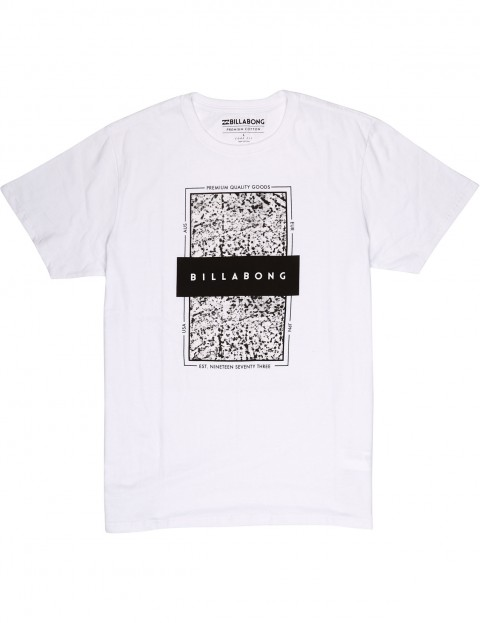 c0ea58de Billabong Locked In Short Sleeve T-Shirt in White | hardcloud.com