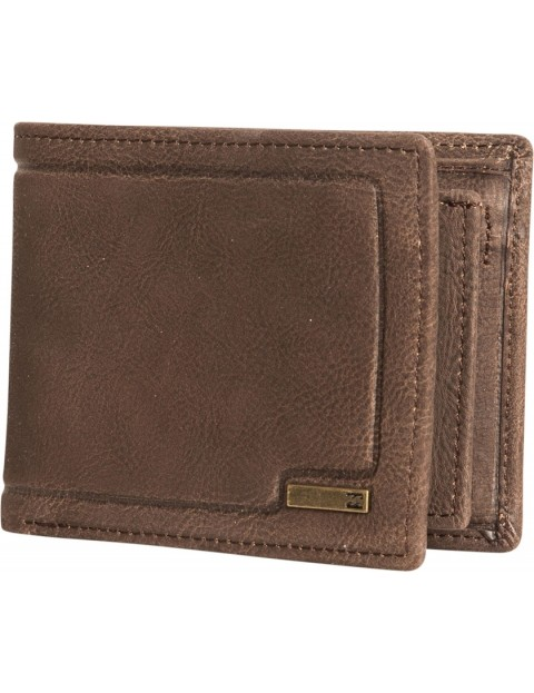 Billabong Scope Leather Wallet in Java