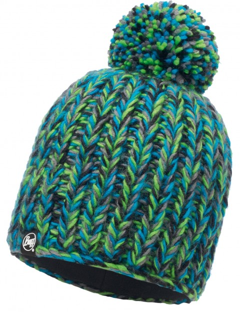 Buff Skyler Bobble Hat in Green