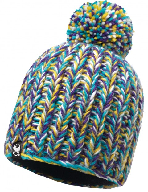 Buff Skyler Bobble Hat in Purple Raspberry