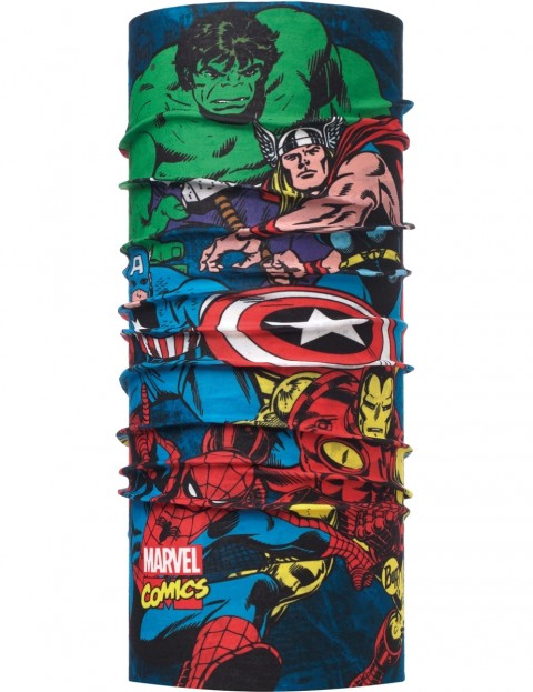 Buff Superheroes Ready To Fight Neck Warmer in Multi