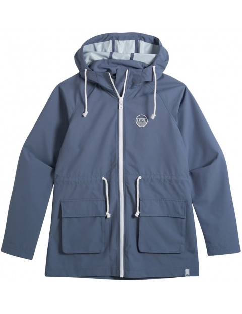 Animal Byron Jacket in Grisaille Blue