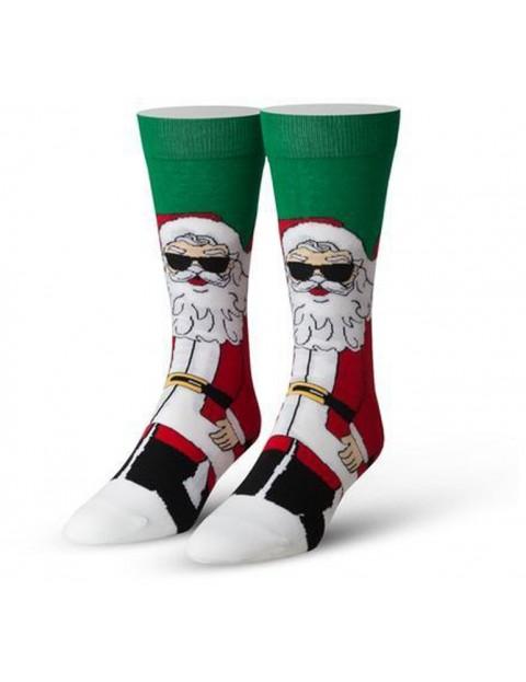 Cool Socks Cool Claus Crew Socks in Multi
