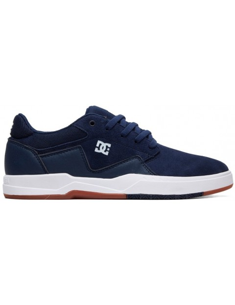 DC Barksdale Trainers in Navy White