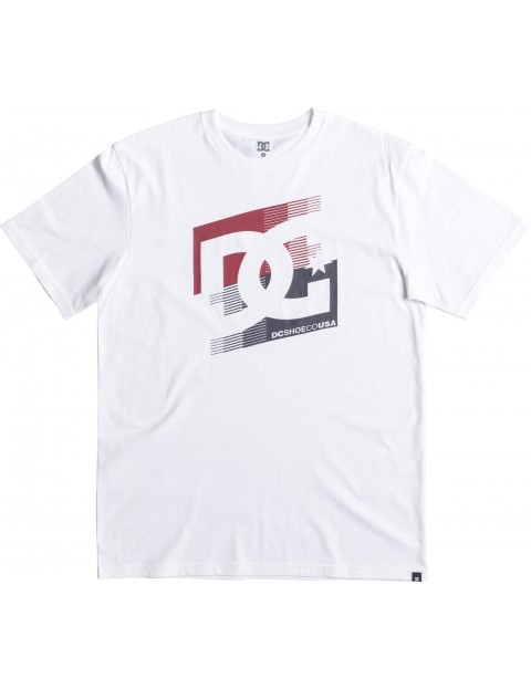 DC Cascade Short Sleeve T-Shirt in Snow White