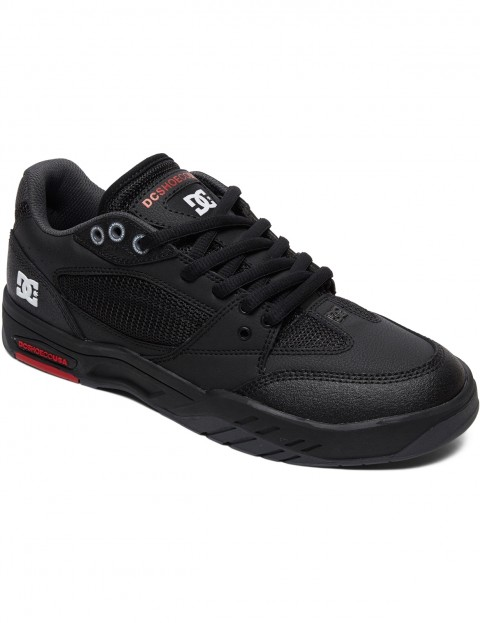 DC Maswell Trainers in Black/White/True Red