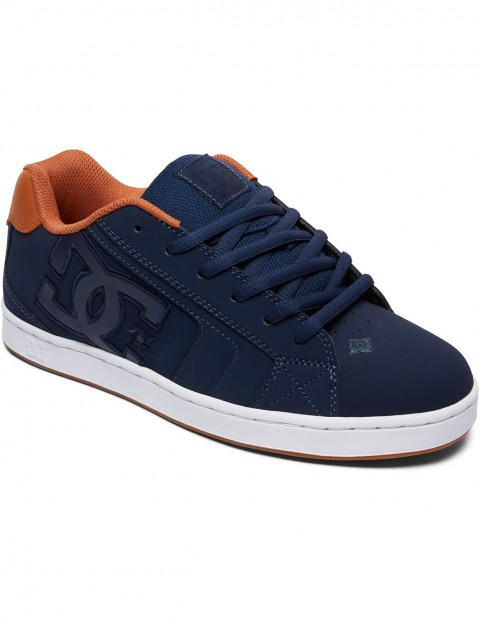 DC Net Trainers in Navy/White