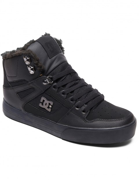 DC Pure WNT Boots in Black/Black/Black