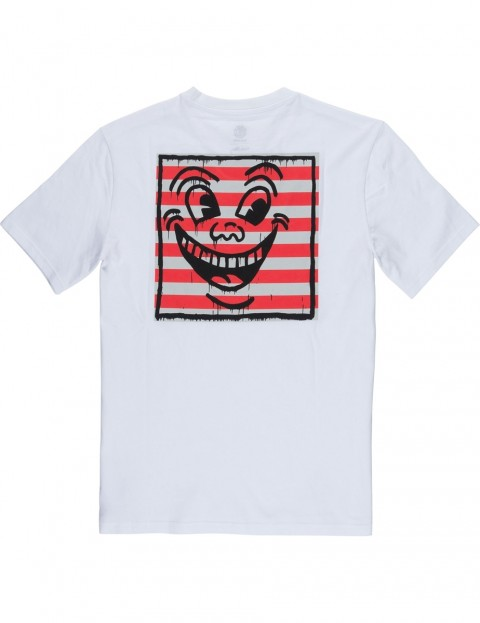 d37253307e51 Element Keith Haring Smile Short Sleeve T-Shirt in Optic White |  hardcloud.com