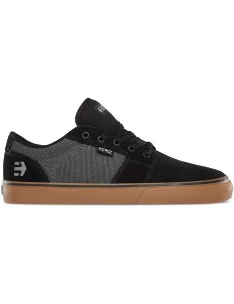Etnies Barge LS Trainers in Black / Dark Grey / Gum