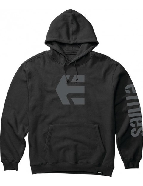 Etnies Icon Pullover Hoody in Black