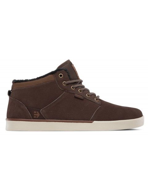 Etnies Jefferson Mid Trainers in Brown/Brown