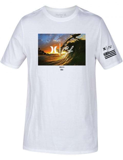 Hurley Clark Little King Kamehameha Short Sleeve T-Shirt in White