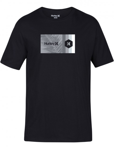 Hurley Double Standard Short Sleeve T-Shirt in Black