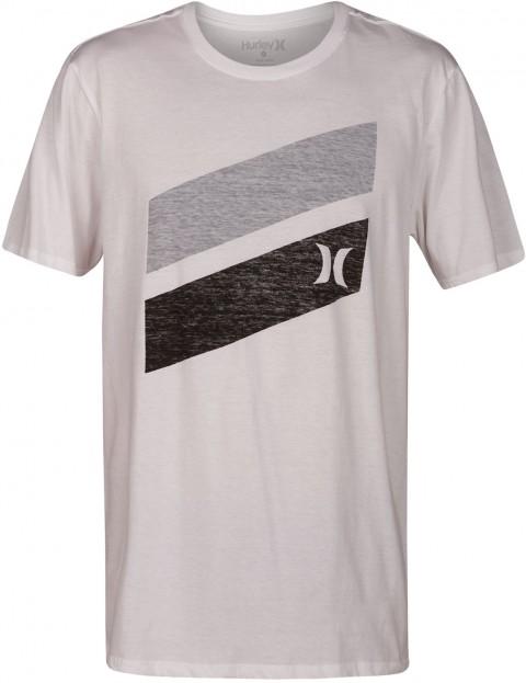 7eedc7f0e2 Hurley Icon Slash Push Through Short Sleeve T-Shirt in White