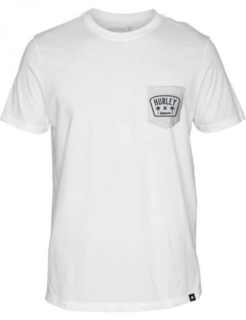 Hurley Roped In Pocket Short Sleeve T-Shirt in White