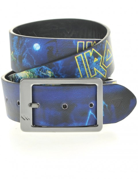 Lowlife Iron Maiden Leather Belt in Full Colour