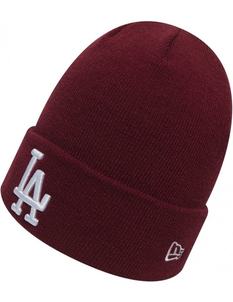New Era Los Angeles Dodgers Beanie in Red