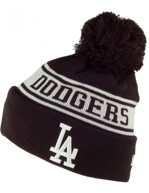 New Era Los Angeles Dodgers Bobble Hat in Black