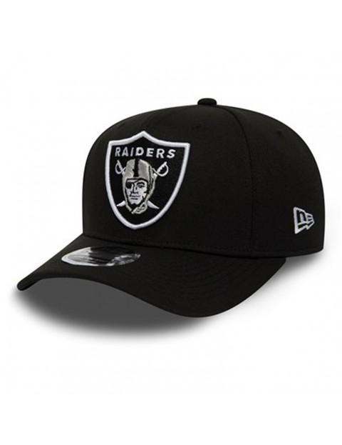 New Era Oakland Raiders Stretch Snap 9Fifty Cap in Black