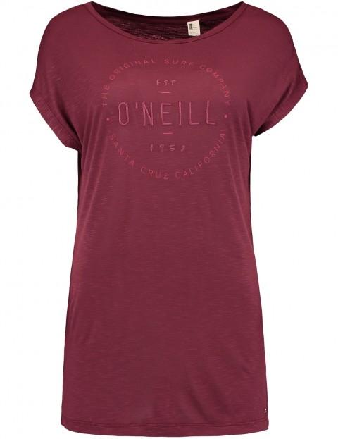 ONeill Essentials Logo Short Sleeve T-Shirt in Current Red