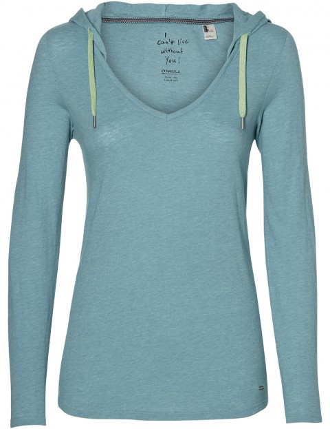 ONeill Marly Pullover Hoody in Aqua