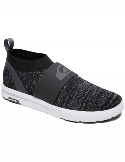 Quiksilver Amphibian Plus Slip On Trainers in GREY/GREY/WHITE