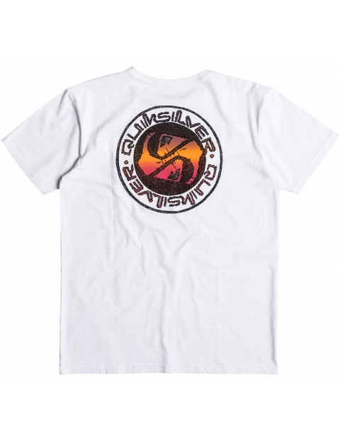 Quiksilver Balanced 69 Short Sleeve T-Shirt in White