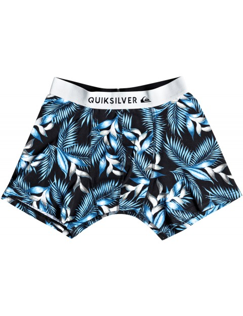 Quiksilver Boxer Poster Underwear in Bonnie Blue Classic Flower
