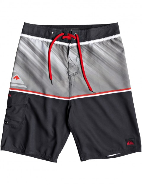 c77813459f00 Quiksilver Everyday Division 20 Mid Length Boardshorts in BLACK    hardcloud.com