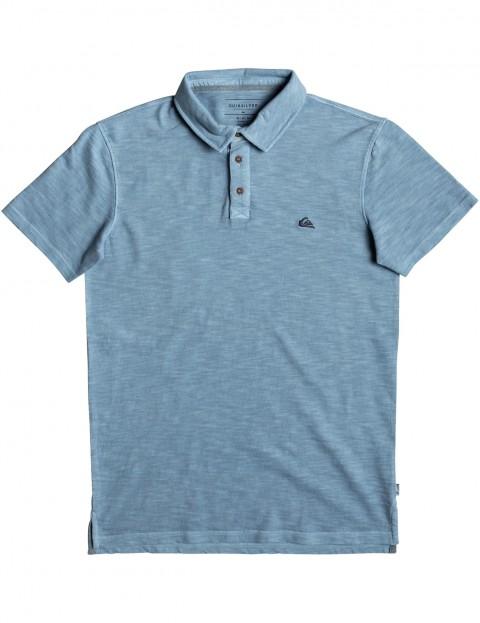 Quiksilver Everyday Sun Cruise Polo Shirt in Orage Blue