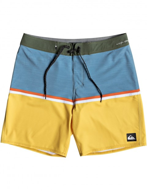 510b07028d Quiksilver Highline Division 18 Mid Length Boardshorts in Stellar |  hardcloud.com