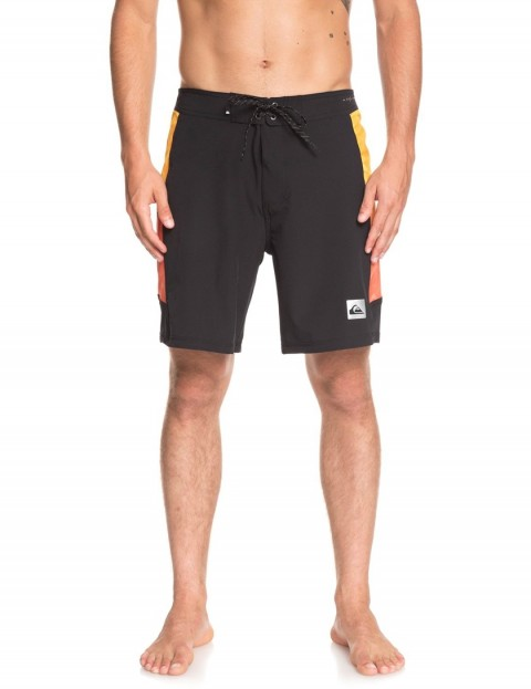 078b6782be Quiksilver Highline Fade Arch 18 Technical Boardshorts in Black |  hardcloud.com