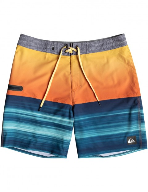61c0ca6a4a Quiksilver Highline Hold Down 18 Mid Length Boardshorts in TIGERORANGE |  hardcloud.com