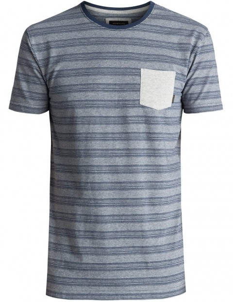 Quiksilver Lill Burn Short Sleeve T-Shirt in Dark Denim
