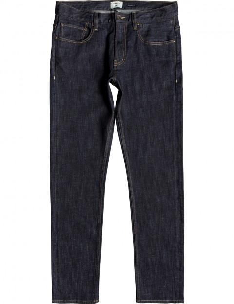 f23f9f5cd8692 Quiksilver Revolver Straight Fit Jeans in Rinse | hardcloud.com