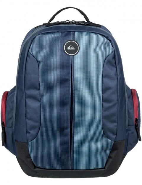 Quiksilver Schoolie II Backpack in Blue Nights