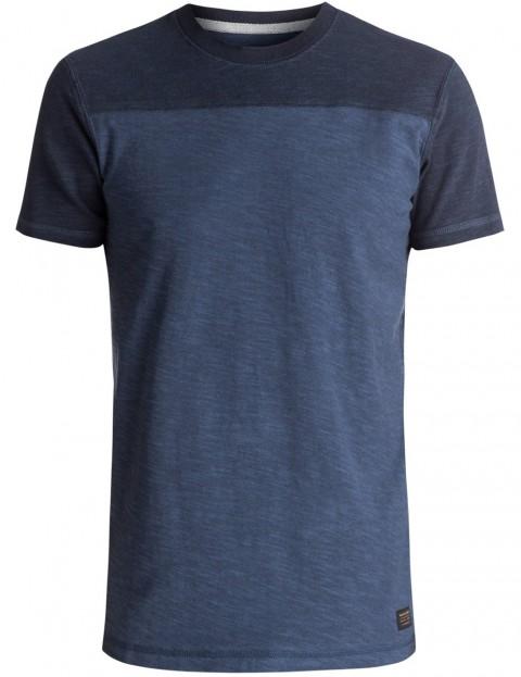 Quiksilver Simbai Short Sleeve T-Shirt in Navy Blazer