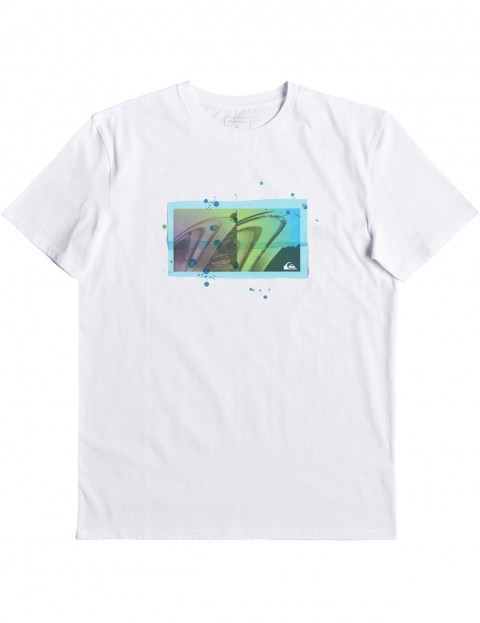 Quiksilver The Quiver Short Sleeve T-Shirt in White
