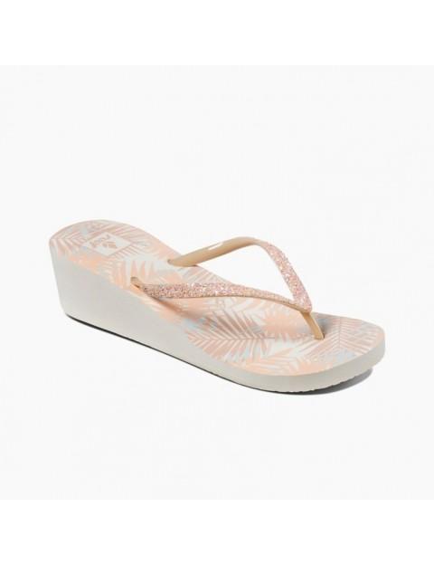7022ce09713 Reef Krystal Star Prints Wedge Sandals in Natural Tropic
