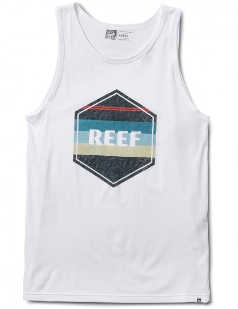 Reef Peeler Tank Sleeveless T-Shirt in White