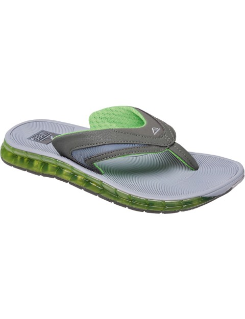 Reef Boster Sport Sandals in Grey/Green