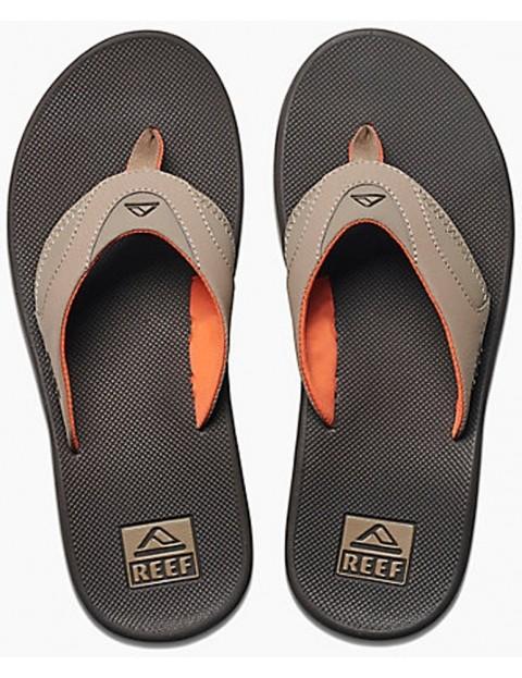 645e08e01bb Reef Fanning Flip Flops in Brown Orange