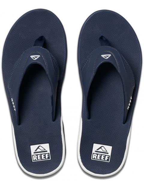 8b73e0d41d2 Reef Fanning Flip Flops in Navy White