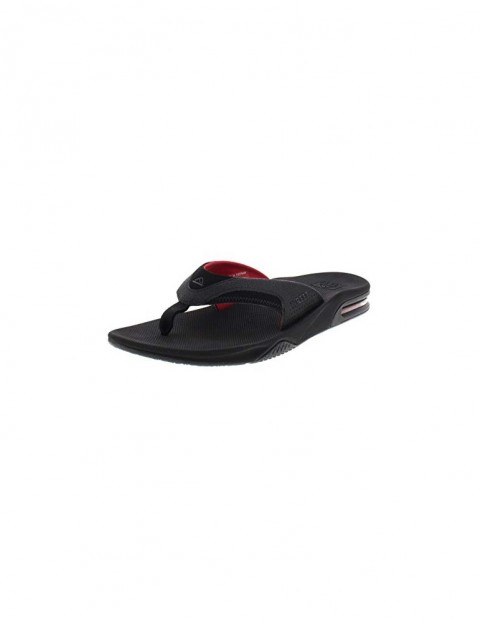 9a06820b0 Reef Fanning Sandals in All Black Red