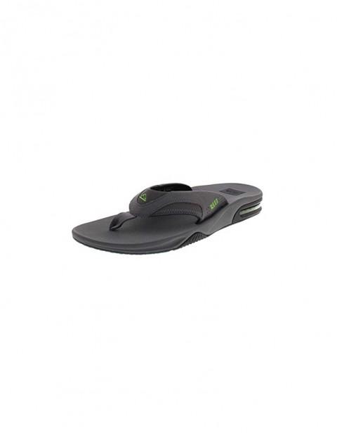 f8e61aaa29ca Reef Fanning Sandals in Grey Black Glow