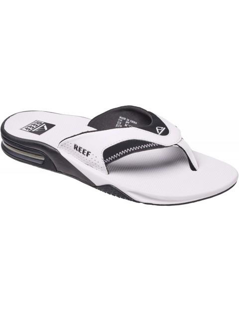 59b0725ce53c Reef Fanning Sport Sandals in White Black
