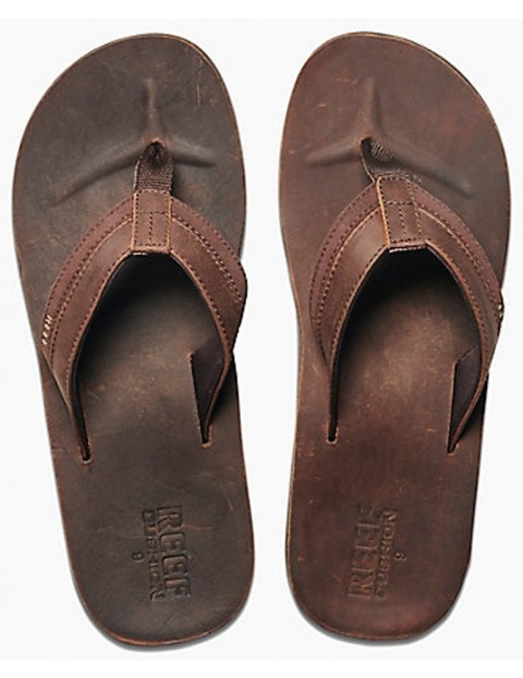 In Sandals Contour Chocolate Reef Leather Cushon dxtshQrC